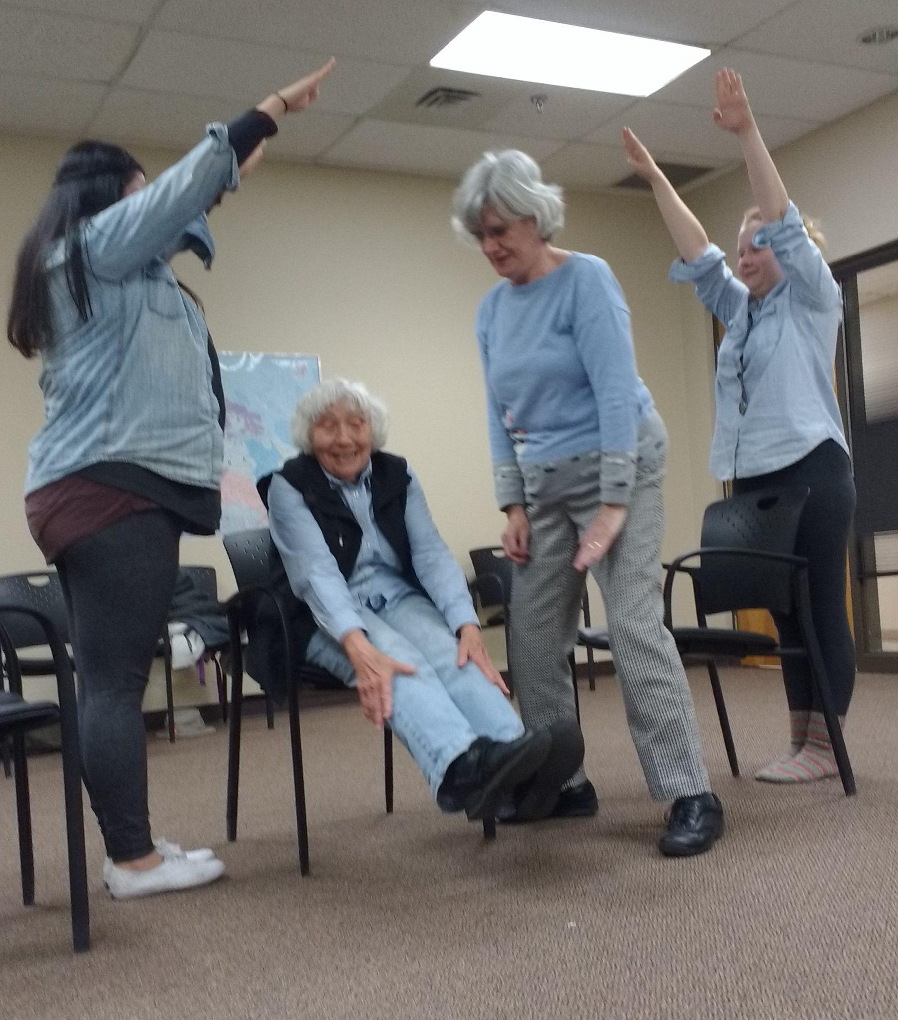 Helen, Angela, Hannah and Theresa - Furniture Story